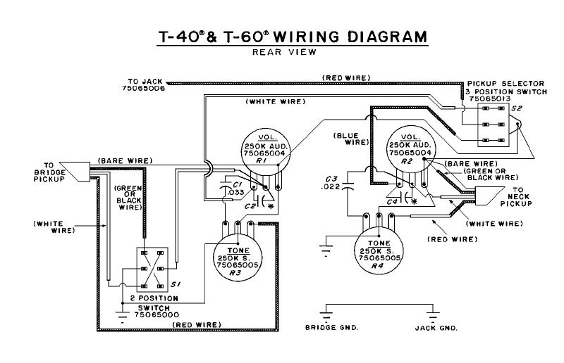 Peavey Pickup Wiring - Wiring Diagram Write