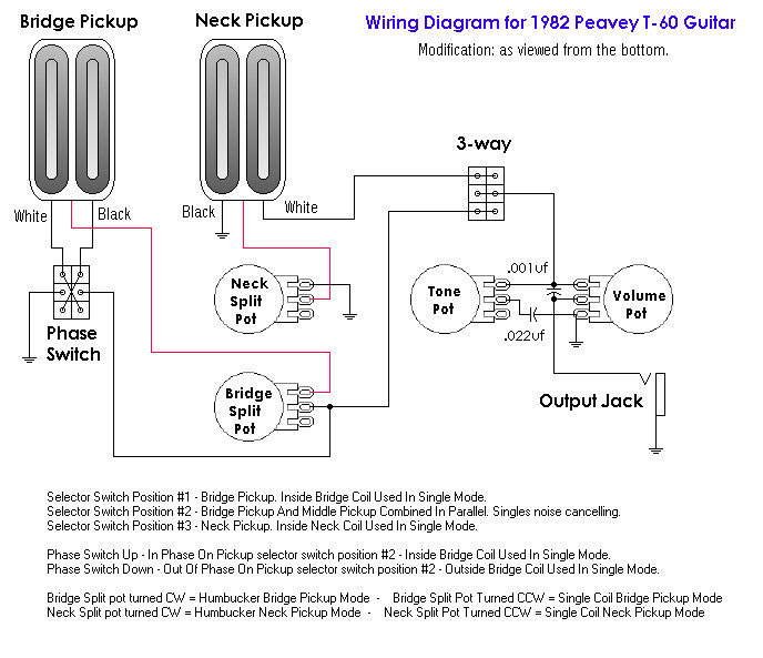 peavey footswitch wiring diagram
