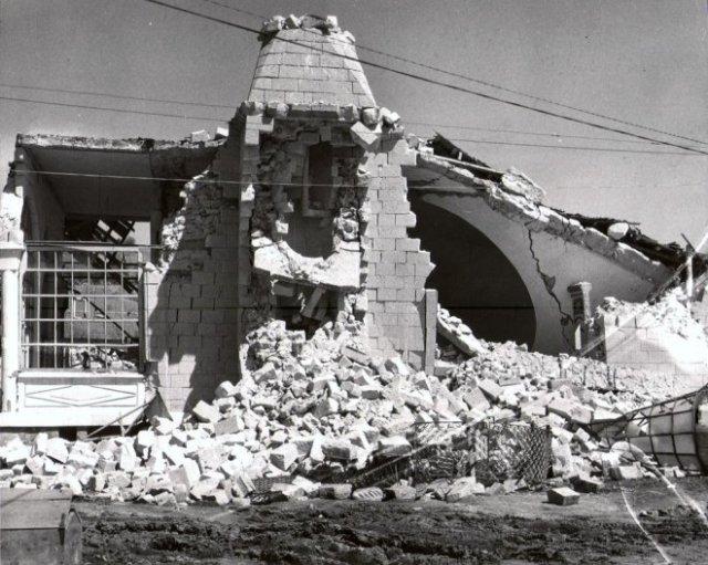 Cami enkazı …