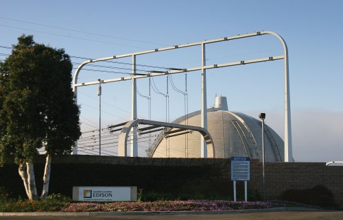 San Onofre Nuclear Generating Station. File photo: Andrea Swayne