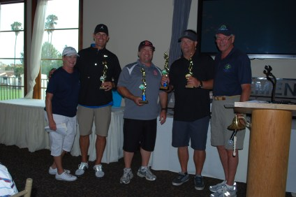 Representatives from San Clemente Little League won the Youth Club trophy at the Friends of San Clemente Beaches, Parks & Recreation Foundation's annual golf tournament. Courtesy photo
