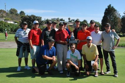 Shorecliffs Golf Club captured the inaugural South County Cup tournament on March 29. Photo: Courtesy