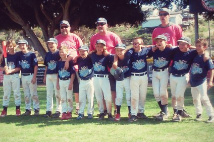 The San Clemente Little League AAAM Hooks. Photo: Courtesy