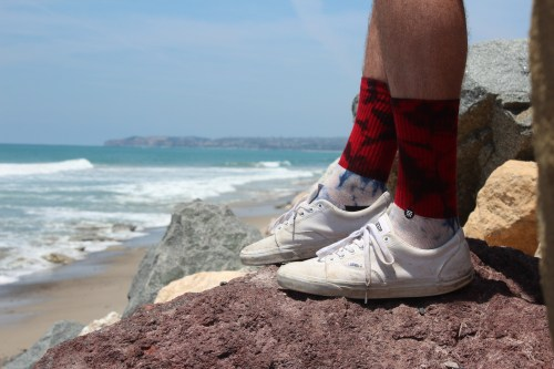 Since forming in 2009, Stance socks have become synonymous with surf, skate and snowboarding culture in Southern California. Photo: Jacob Onfrio