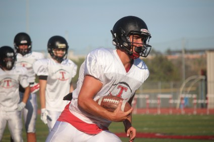 San Clemente senior tight end Cole Fotheringham will be an offensive player to watch in 2015. Photo: Steve Breazeale