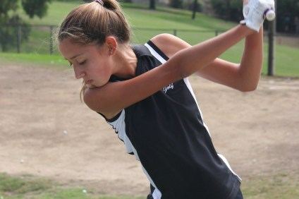 San Clemente's Isabella Seeburger has earned match medalist honors in four contests this season. Photo: Steve Breazeale