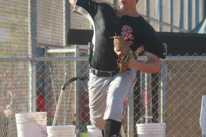San Clemente pitcher Andre Pallante has a team-leading 0.91 ERA this season. Photo: Steve Breazeale