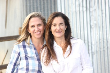 Tara Rynne and Caroline Johnston started Near & Dear Local Goods Fundraising to promote California-based businesses while raising funds for schools. Photo: Courtesy