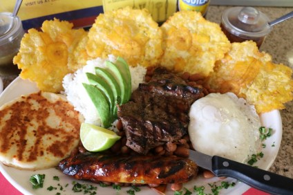 Bandeja Colombiana. Photo: Danny Ritz