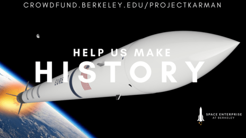A graphic from Project Karman, an organization trying to be the first college club to launch a suborbital rocket. Photo: Courtesy