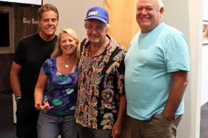 From left, Paul Strauch, Linda Michael, Tom Morey and Steve Pezman. Photo: Courtesy of SHACC