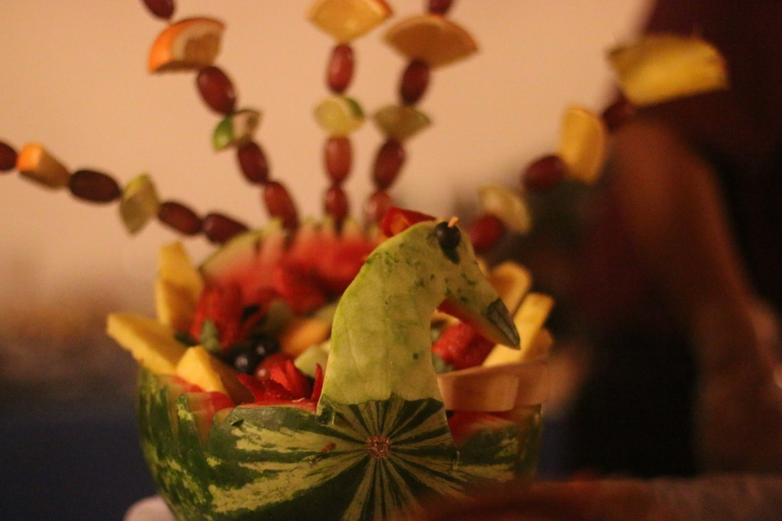 Colorful displays of food and art were found all around the Taste of San Clemente on Nov. 3 at Casino San Clemente.