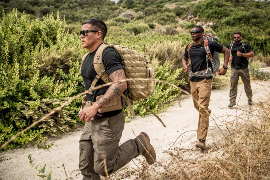 Active and former military members will compete against each other in teams of two during the Marine Raider Challenge on Saturday, Feb. 17. The event takes place around San Clemente. Photo: Rebecca Lindsay/Courtesy of the Marine Raider Challenge