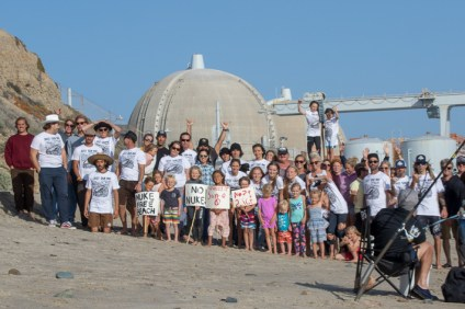 The San Onofre surf crew stands up against burying nuclear waste on their beach. Photo: Andrea Coleman