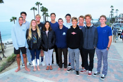 San Clemente High School's surf team seniors will embark on their futures as they graduate in June. Photo: Jake Howard