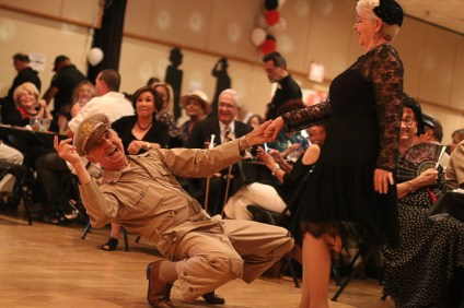 People danced to swing music performed by Swing Cats on June 9 at the San Clemente Community Center.
