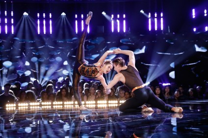 Avery Gay, left, and Marcus Sarjeant compete on an episode of NBC's 'World of Dance.' Sarjeant, from San Clemente, and Gay recently defeated last year's champion of the duel sections on the show. Check local listings for the next chance to see them perform. Photo: Courtesy of Trae Patton/NBC