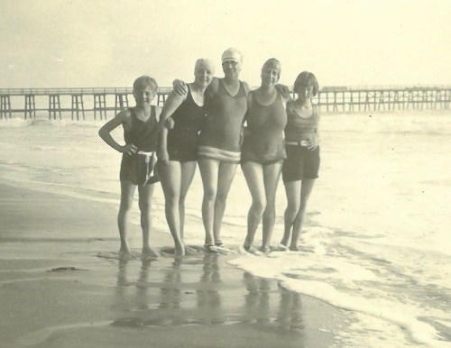 These pictures from a photo album provided by the family of San Clemente founder Ole Hanson show the town's brand-new Pier in 1928. Photo: Courtesy of the Hanson family