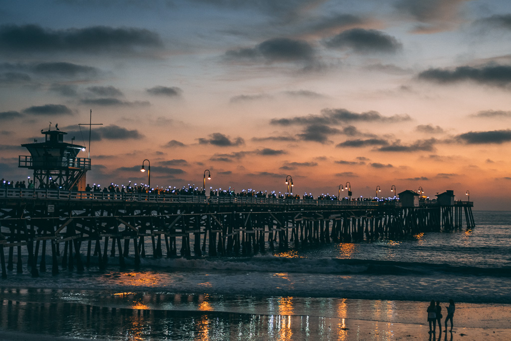 Light Up The Pier 2018. Photo: Noah McPherson