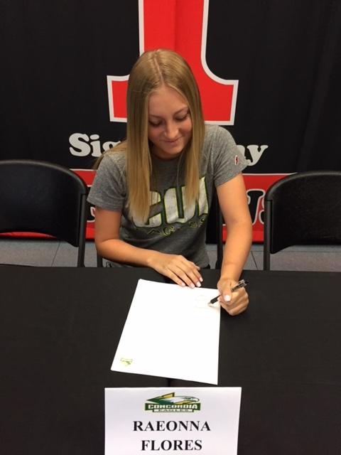 SCHS NLI - Raeonna Flores Signing