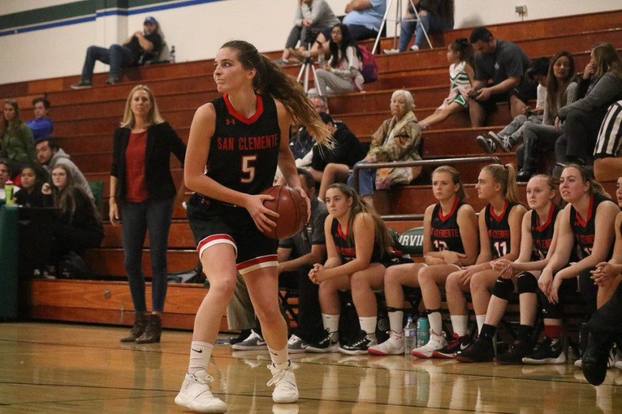 San Clemente girls basketball looks to build off of and learn from last season's playoff run and has higher aspirations for the 2018-19 season. Photo: Zach Cavanagh