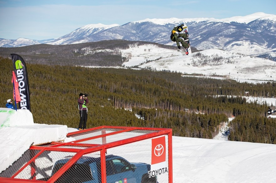 San Clemente native Hailey Langland, 17, competed in women's slopestyle and big air at the Winter Olympics in PyeongChang, South Korea. Langland is pictured at the Dew Tour in December. Photo: Bryce Kanights