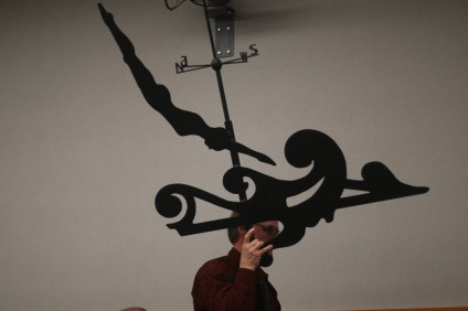 The new weathervane that will be placed at the top of the Ole Hanson Beach Club will be celebrated on Feb. 23 at a ceremony. Photo: File