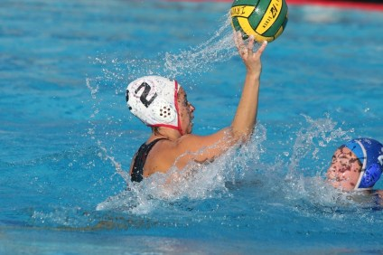 San Clemente's Brooklyn Aguilera scored four goals in the CIF-SS Divison 2 championship game. Photo: Eric Heinz