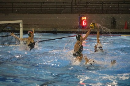 San Clemente girls water polo defeats Santa Barbara in CIF-SS Division 2 semifinal. Photo: Zach Cavanagh