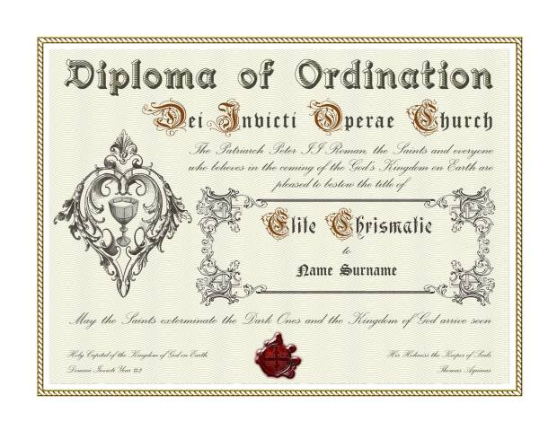 Congratulazioni! Fate parte ora dell'universo di Sancta Sanctorum!