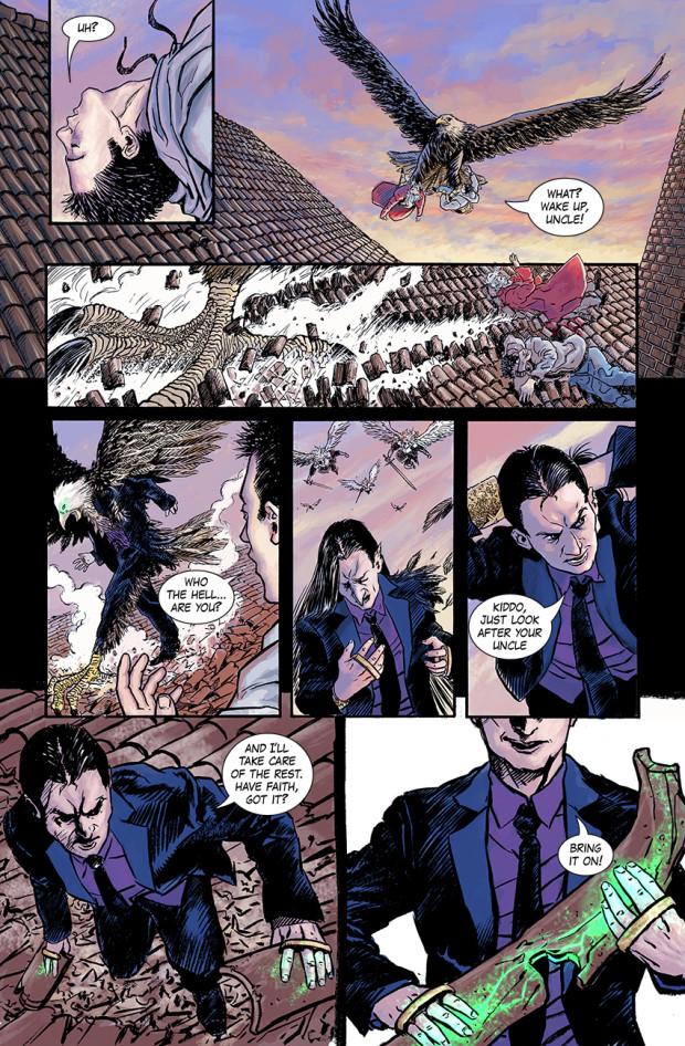 Taro viene salvato da morte certa dal Martire Leo.