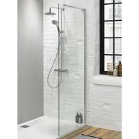 Walk In Shower Glass Panel - Size 1000mm - 8mm Glass ...