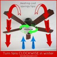 Ceiling Fan Direction for Winter + Tips - Sand and Sisal