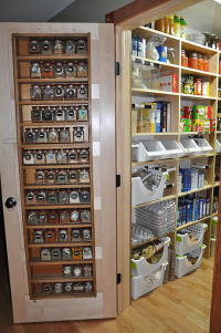 Spice Rack Storage Solutions - Sand and Sisal