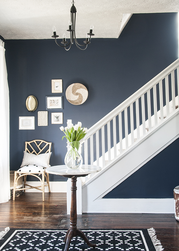 Tried and True Nautical Blue Paint Colors - Sand and Sisal