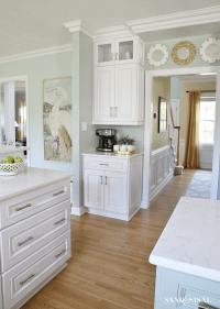 Coastal Kitchen Makeover - the reveal