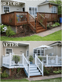 All Decked Out! Total Deck Makeover - Sand and Sisal