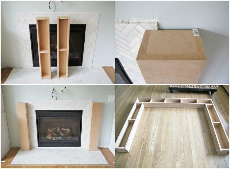 Diy Wood Fireplace Mantel Diy Do It Your Self