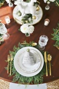Christmas Dinner Tablesetting Ideas - Sand and Sisal