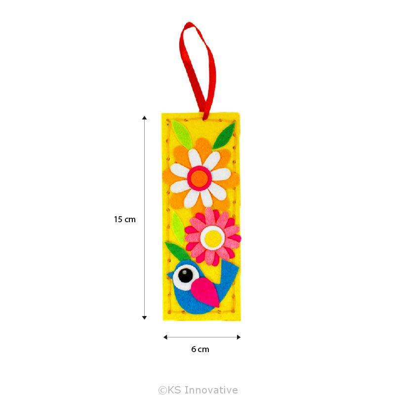 Felt Cutie Bookmark Pack of 5