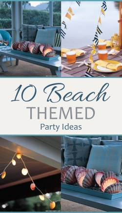 Small Of Beach Party Ideas