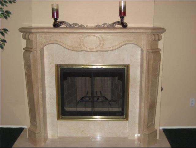 Marble And Granite Fireplace Photos In San Diego Custom