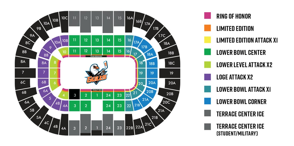 Season Tickets San Diego Gulls