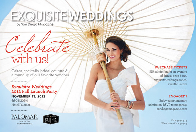 web launchparty special bridal event | exquisite weddings magazine launch party