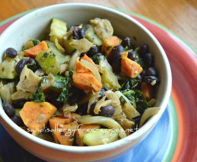 Black Bean & Veggie Bowl