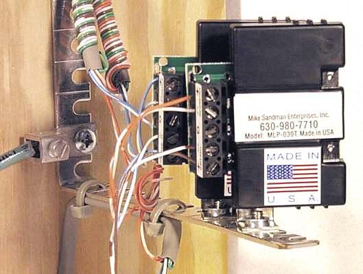 Telephone Lightning  Surge Protection