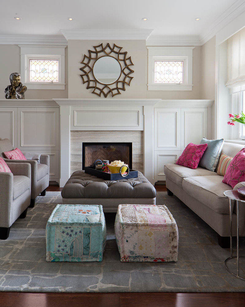 Living Room Poufs ~ Home \ Interior Design - poufs for living room