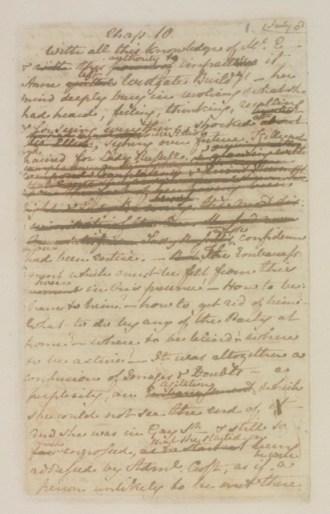 Jane Austen page copy