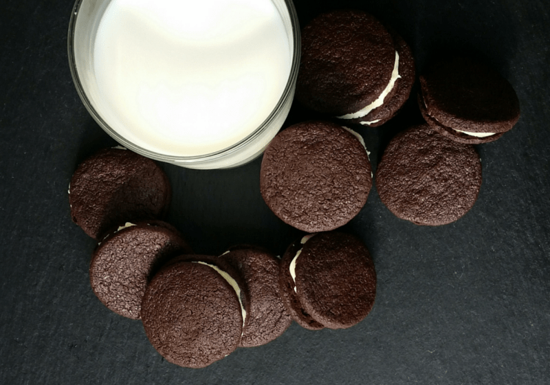Homemade Oreo Cookies Rezept