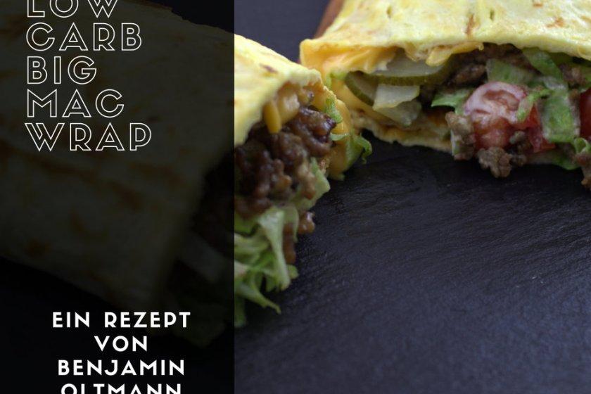 Low Carb Big Mac Wrap Rezept